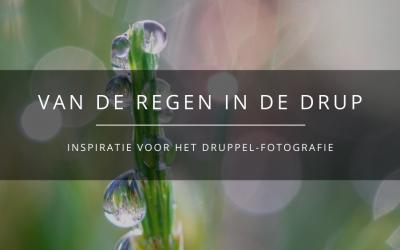 Fotograferen van druppels